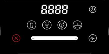 Panel dotykowy w Blendtec Designer 625