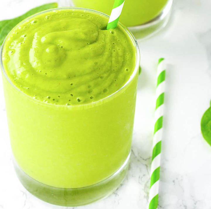 przepis na najlepszy zielony koktajl